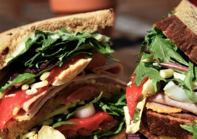 Sandwich - Macro Shot
